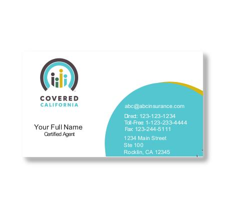 Business cards displays covered ca store covered ca business cards circular design reheart Choice Image