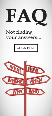 FAQ side banner