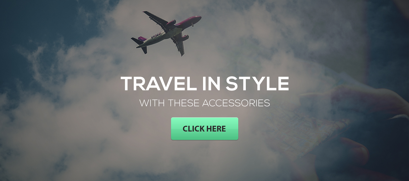 Travel Accessories banner