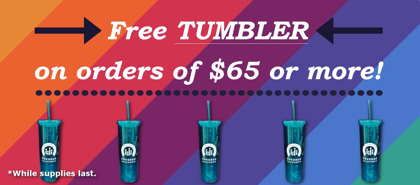 Free Tumbler Offer